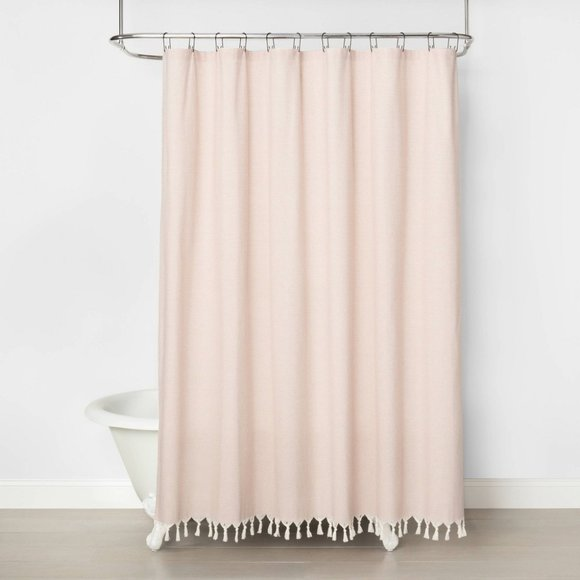 Railroad Stripe Shower Curtain - Hearth & Hand 200